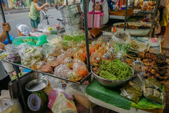 Alimento de la calle en Bangkok Imagen de archivo
