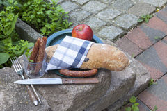 Alimento de la comida campestre Imagen de archivo