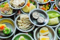 Alimento de la comida fría en el vector Foto de archivo libre de regalías
