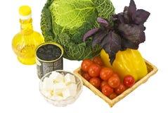 Alimento de la dieta Imágenes de archivo libres de regalías