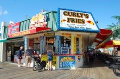 Alimento de la orilla de New Jersey imagen de archivo libre de regalías