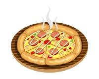 Alimento de la pizza todas las pizzas Imagen de archivo libre de regalías