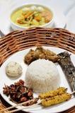 Alimento de Malasia imagenes de archivo
