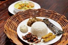 Alimento de Malasia foto de archivo