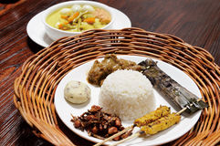 Alimento de Malaysia foto de stock