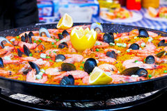 Alimento de mar Foto de Stock Royalty Free