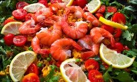 Alimento de mar Imagen de archivo libre de regalías