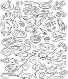 Alimento de mar Foto de Stock