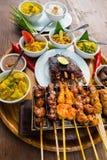 Alimento de mar tradicional do balinese Imagem de Stock Royalty Free