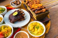 Alimento de mar tradicional do balinese Fotos de Stock Royalty Free