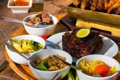 Alimento de mar tradicional do balinese Fotografia de Stock Royalty Free