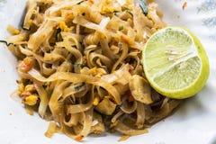 Alimento de Padthai Tailândia Fotos de Stock Royalty Free