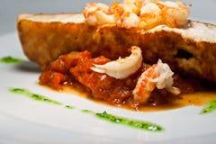 Alimento de peixes 3 Foto de Stock Royalty Free