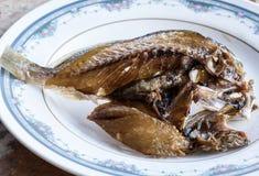 alimento de peixes Sun-secado em Tailândia Foto de Stock