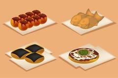 Alimento de petisco de Japão Foto de Stock Royalty Free
