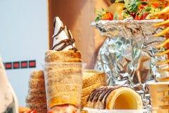 Alimento de Praga e mercados do alimento fotos de stock royalty free