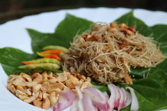 alimento de Tailândia Fotografia de Stock