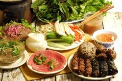 Alimento de Vietnames Fotografia de Stock Royalty Free