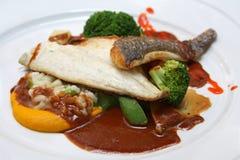 Alimento decorado delicioso Foto de Stock Royalty Free