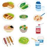 Alimento degli ingredienti della casalinga Fotografie Stock Libere da Diritti