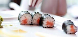 Alimento dei sushi Immagine Stock