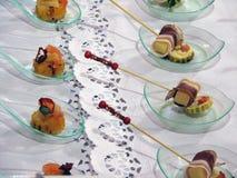 Alimento del aperitivo Imagenes de archivo