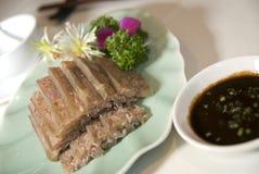 Alimento del asiático de la cocina de Shangai Imagen de archivo libre de regalías