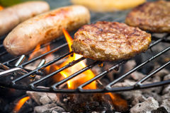Alimento del barbecue Fotografia Stock Libera da Diritti