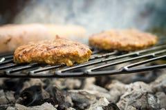 Alimento del barbecue Fotografie Stock