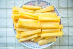 Alimento del centro dell'ananas buon ed alta nutrizione della bromelina Immagine Stock Libera da Diritti