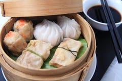 Alimento del cinese di Dimsum Fotografia Stock Libera da Diritti