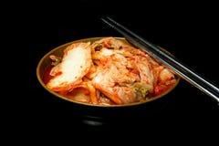 Alimento del Coreano di Kimchi Immagini Stock