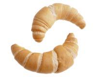 Alimento del Croissant Fotografia Stock