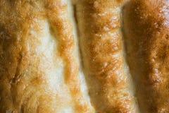 Alimento del fondo con struttura del pane bianco Fotografie Stock Libere da Diritti