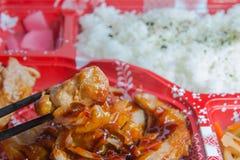 Alimento del Giappone Immagine Stock