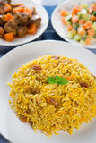Alimento del Medio-Oriente. Fotografie Stock