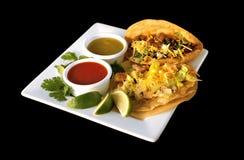 Alimento del Mexican del Tacos Fotografie Stock