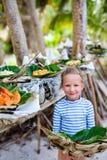 Alimento del Pacifico del Nord del locale Fotografia Stock