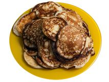Alimento del pancake Fotografia Stock