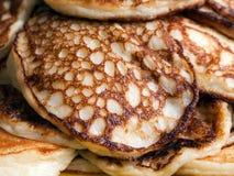 Alimento del pancake Immagini Stock Libere da Diritti