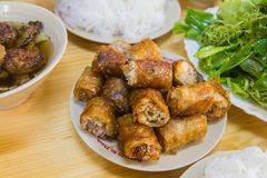 Alimento del panino Cha - del Vietnam fotografie stock libere da diritti