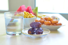 Alimento del Ramadan Fotografie Stock Libere da Diritti