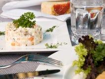Alimento del ristorante fotografia stock libera da diritti