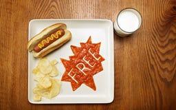 Alimento del supereroe, libero Immagine Stock