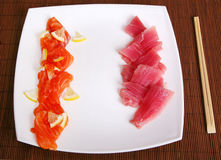 Alimento del sushi Imagen de archivo libre de regalías