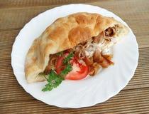 Alimento del turco de Doner Kebab Fotografía de archivo
