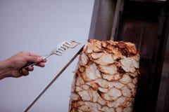 Alimento del turco di Doner Kebab Immagine Stock Libera da Diritti