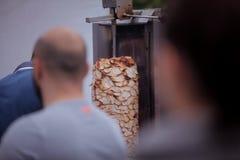 Alimento del turco di Doner Kebab Fotografia Stock Libera da Diritti