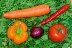 Alimento del vegetariano Fotografia Stock Libera da Diritti