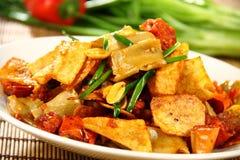 Alimento delicioso chinês Fotografia de Stock
